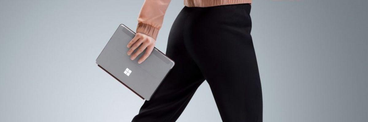 Surface Go arrive en France : Microsoft proposera sa tablette fin août pour 449€