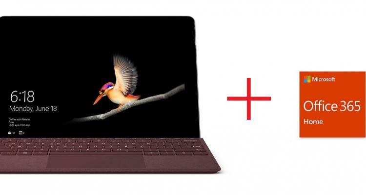 [Bon plan] Microsoft lance une offre groupée Surface Go sur le MS Store
