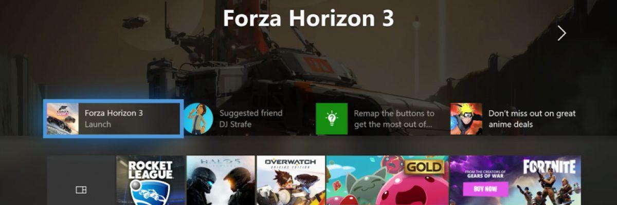 La nouvelle interface de la Xbox One envoie du lourd !