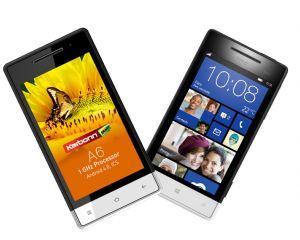 L'interface WP dans un téléphone Android dédié au marché indien