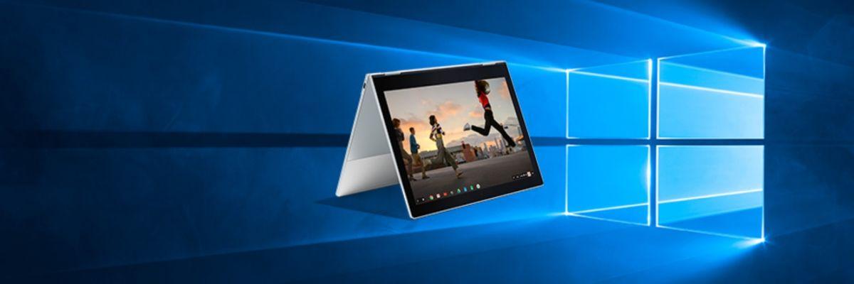 Bientôt des Chromebooks équipés de Windows 10 ?