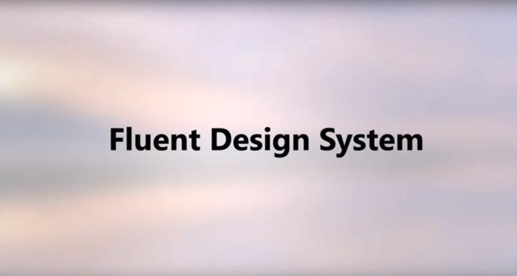Fluent Design : les premiers changements apportés par la Fall Creators Update