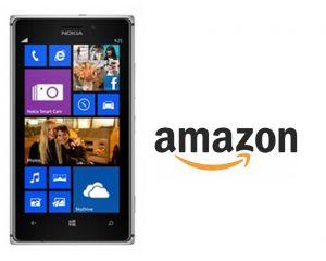 Le Nokia Lumia 925 est disponible également chez Amazon