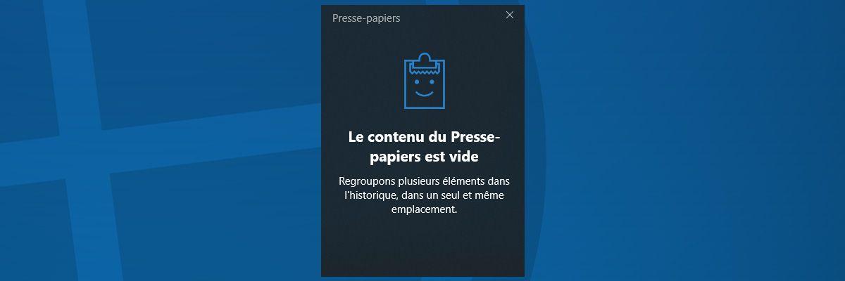 Comment Activer L Historique Du Presse Papiers Copier
