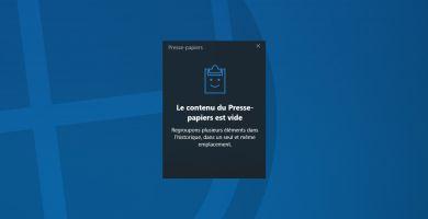 Comment activer l'historique du presse-papiers (copier/coller) sur Windows 10 ?