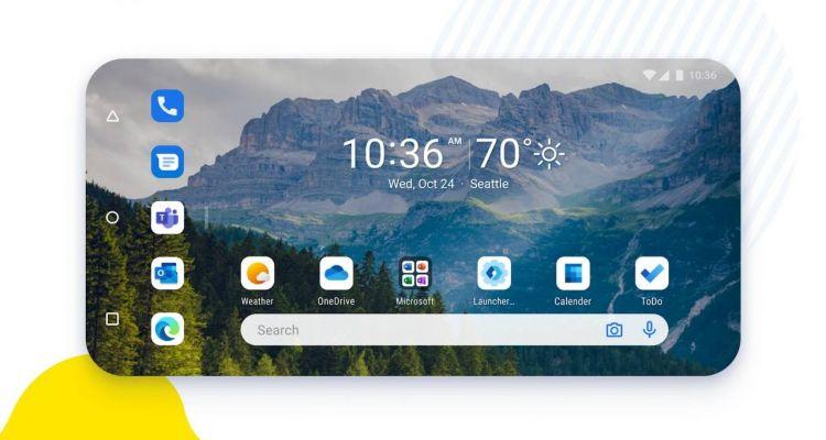 Microsoft Launcher pour Android s'offre une petite mise à jour