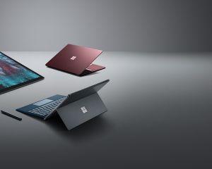 Surface Pro 6, Surface Laptop 2 et Surface Studio 2 bientôt de sortie en France