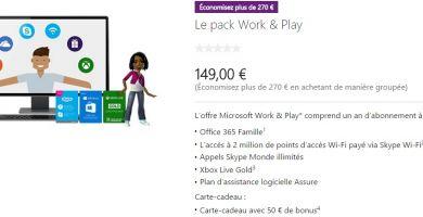 [Bon plan] Un pack Office 365 + Xbox Live Gold + carte cadeau + Skype pour 149€