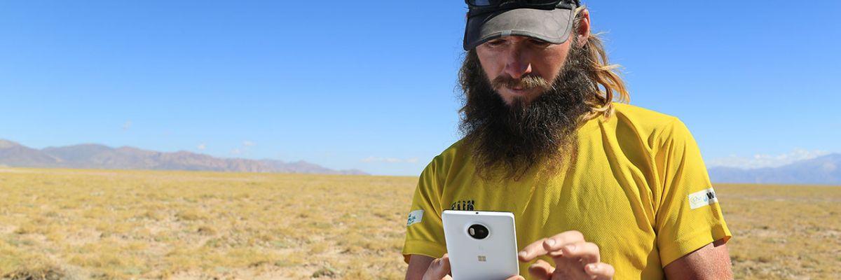 Mode continuum : Jamie Ramsay, ce Forrest Gump moderne, nous montre son utilité