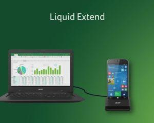 Acer Liquid Extend : pour profiter du Liquid Jade Primo de façon mobile et pro