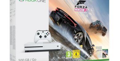 [Bon plan + Concours] Xbox One S avec le jeu Forza Horizon 3 à 199€