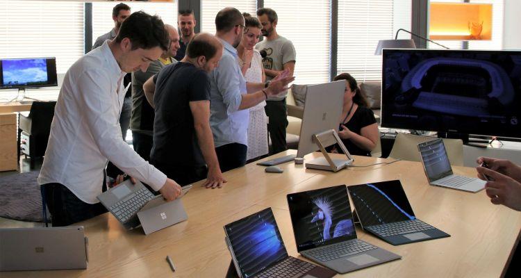 J'ai testé Surface Pro et Surface Laptop, disponibles dès aujourd'hui en France