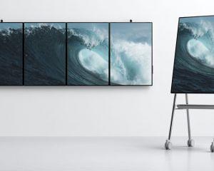 Microsoft présente le Surface Hub 2 avec son écran de 50,5 pouces