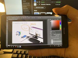 Insolite : Adobe Photoshop fonctionne aussi sur le Lumia 950 XL
