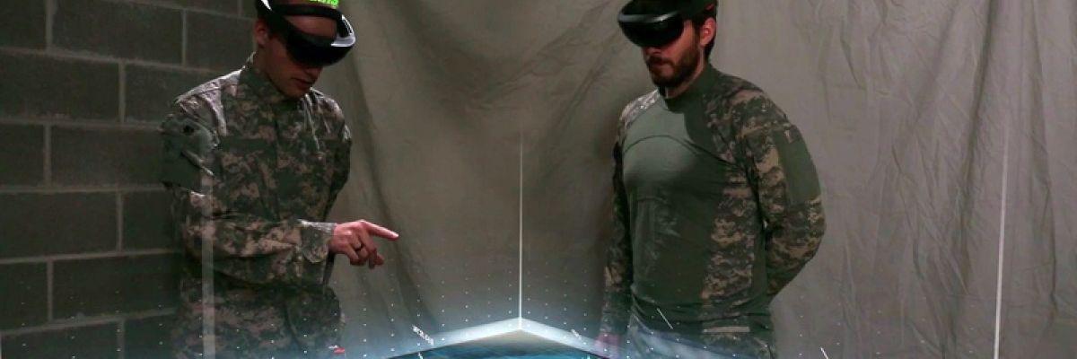 Des employés de Microsoft protestent contre la vente de HoloLens à l'armée US