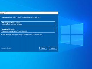 Comment réinstaller Windows 10 lorsqu'il est impossible de réinitialiser son PC?