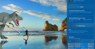 La nouvelle Build 16215 de Windows 10 pour les Insiders envoie du poney !