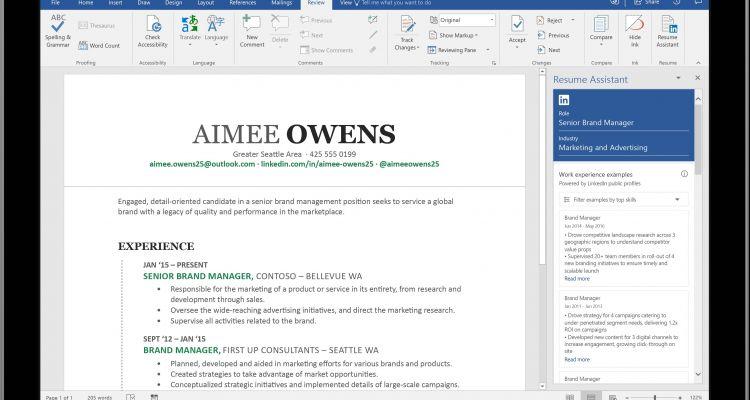 Comment rédiger un bon CV grâce à l'intégration de LinkedIn dans Word ?