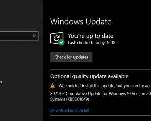 Windows 10 : résoudre l'erreur 0x80070541 lors de l'installation de KB5001649