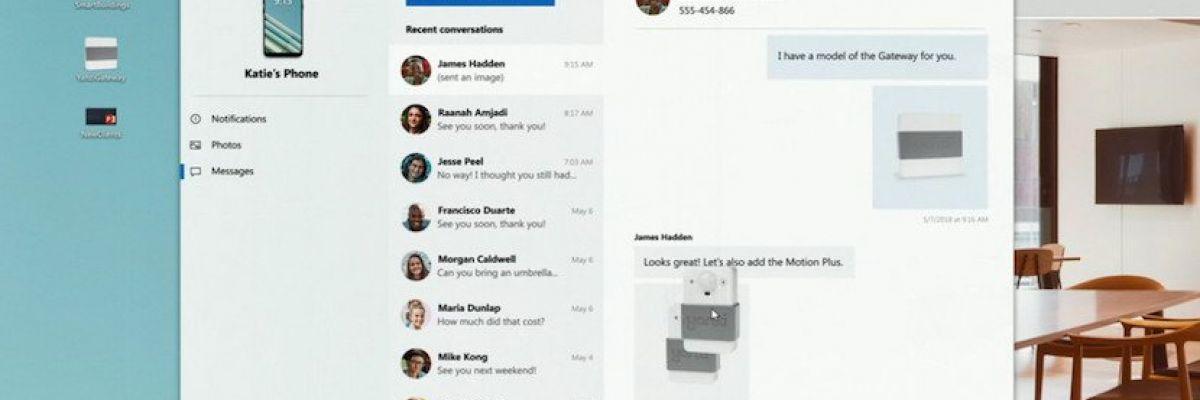 Your Phone: passer un appel depuis Windows 10 avec Android pour bientôt?