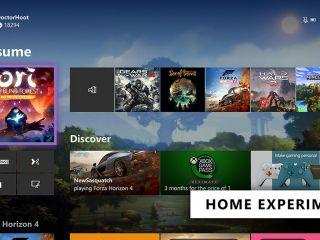 Découvrez la nouvelle interface d'accueil sur Xbox One sans Cortana