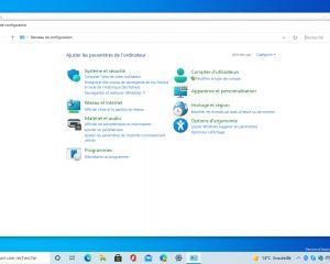 Windows 10 : le panneau de configuration n'est pas encore mort