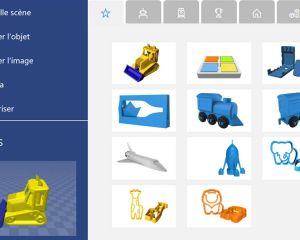 L'application Microsoft Print 3D est disponible sur Windows 10 Mobile