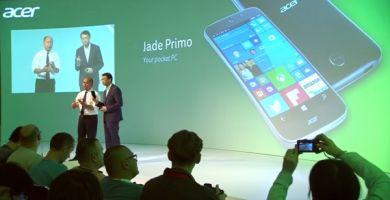 [IFA 2015] Acer Liquid M330, Liquid M320 et Jade Primo sous Windows 10 Mobile