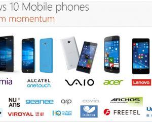 Lenovo ne lancera pas de téléphone sous Windows 10 Mobile