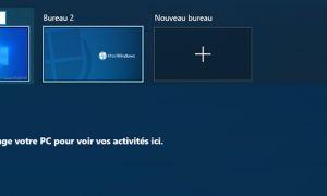 Vous pourrez bientôt renommer les bureaux virtuels sur Windows 10
