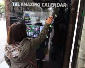 The Amazing Calendar, des panneaux interactifs Windows Phone