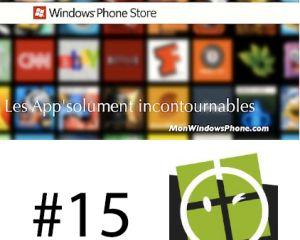 Les app'solument incontournables #15