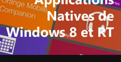 [Tuto] Les applications natives de Windows 8/RT