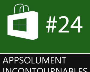 Les App'solument Incontournables #24