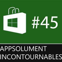 Les App'solument Incontournables #45