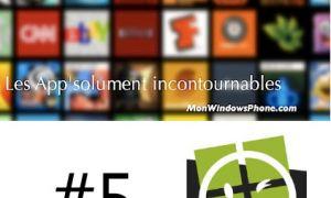 Les App'solument incontournables #5