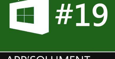 Les app'solument incontournables #19