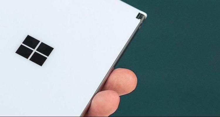 Brevet : un Surface Duo doté de quatre capteurs photo