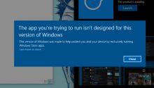 Windows 10 Cloud pourrait être mis à jour vers Windows 10 après paiement