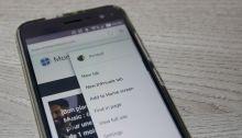 Mise à jour du navigateur Edge pour Android : thème sombre et synchronisation