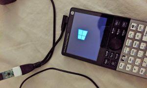 Vous avez envie d'installer Windows 10... sur votre calculatrice ?