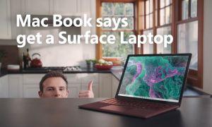 "Microsoft Troll : ""Mac Book"" vous recommande d'acheter une Surface"