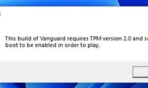La puce TPM 2.0 obligatoire pour jouer à certains jeux sur Windows 11