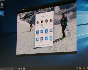 Envie de tester le nouvel écran de partage de Windows 10 Creators Update ?