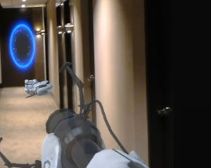 Le jeu Portal en réalité augmentée sur Hololens : démo vidéo (ou presque)