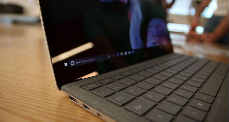 Le Surface Laptop est proposé dans une nouvelle variante à partir de 849€