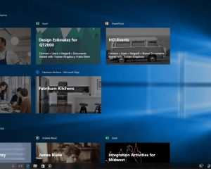 Windows Timeline, en démonstration vidéo, arrive prochainement pour les Insiders