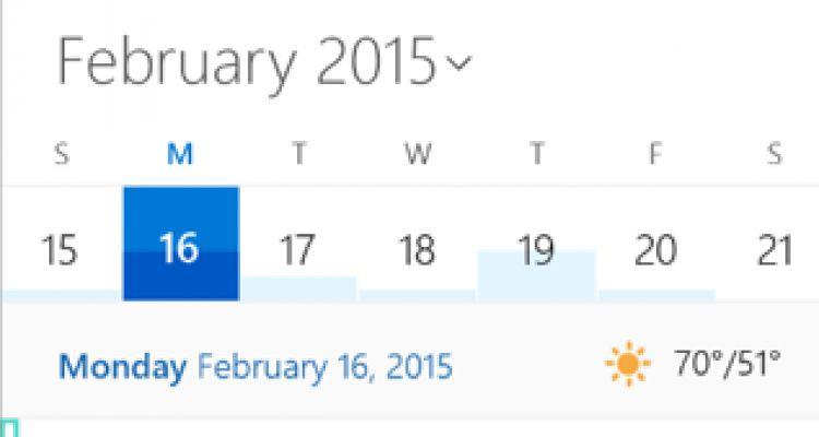 Windows 10 : à quoi ressembleront le calendrier et le hub contacts ?