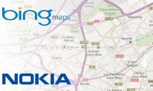 Bing Maps utilise maintenant les services de Nokia