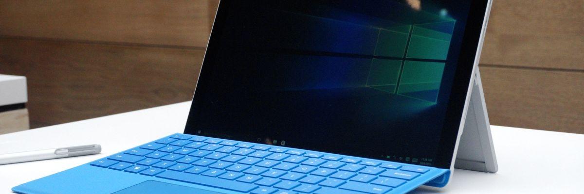 Une Surface Pro 4 Intel Core i5 128 Go pour à peine plus de 1000 euros
